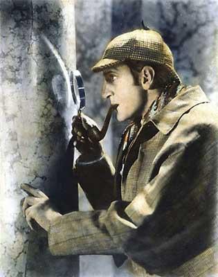 Sherlock Holmes y la novela policíaca