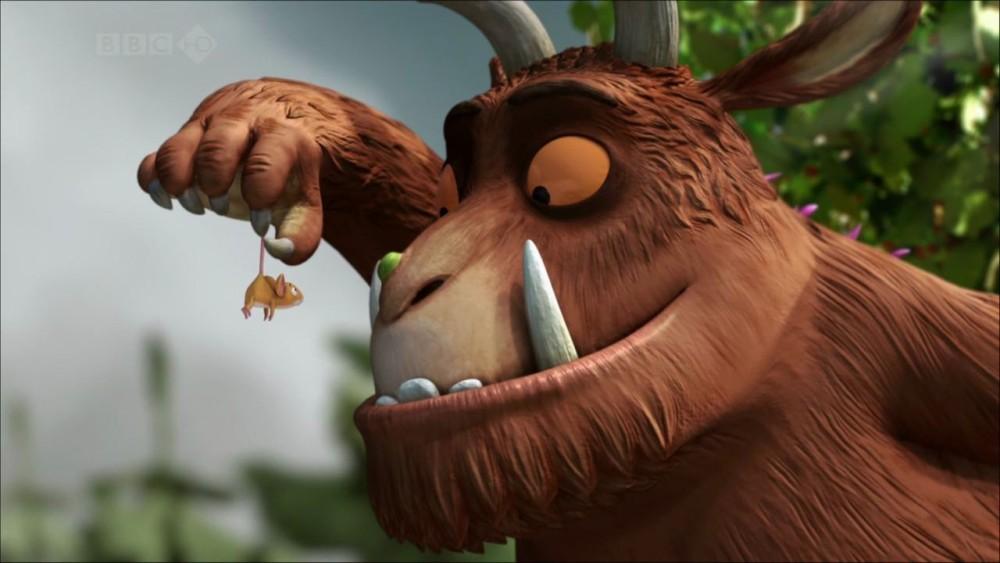 Cortometrajes de Animación: El Gruffalo y El día y la noche