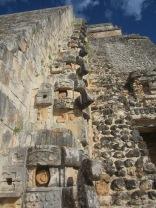 Pirámide del Adivino, detalle